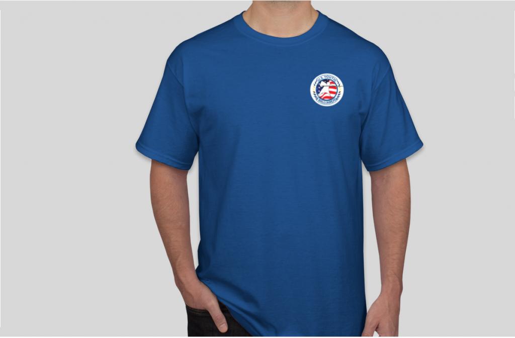 U.S. Youth Billiards Logo Shirt Front