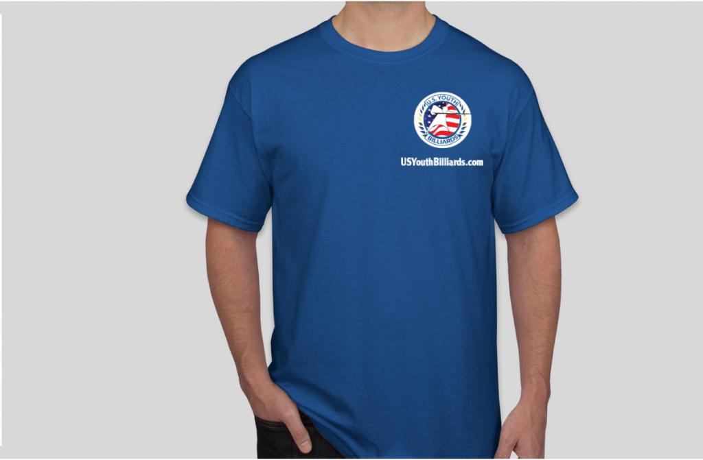 U.S. Youth Billiards Champions Shirt Front